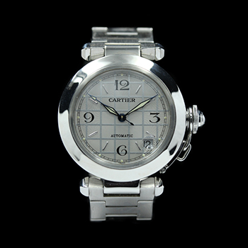 CARTIER PASHA C STAINLESS STEEL - CARTIER PASHA C STAINLESS STEEL