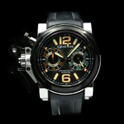 GRAHAM CHRONOFIGHTER OVERSIZE NIGHT RANGER 2OVAV.B13A (SV) - CHRONOFIGHTER OVERSIZE NIGHT RANGER