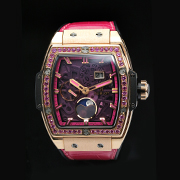 HUBLOT SPIRIT OF BIG BANG 647.OX.7381.LR.1233 -  HUBLOT SPIRIT OF BIG BANG MOONPHASE KING GOLD PINK