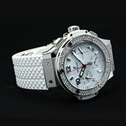 HUBLOT BIG BANG STEEL WHITE DIAMOND