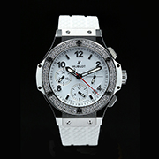 HUBLOT BIG BANG STEEL WHITE DIAMOND 342.SE.230.RW.114 - HUBLOT BIG BANG STEEL WHITE DIAMOND