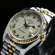 ROLEX DATEJUST 36 HALF GOLD