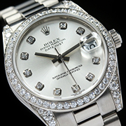 ROLEX LADY DATEJUST 31 WHITE GOLD