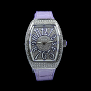FRANCK MULLER VANGUARD QUARTZ V 32 QZ - VANGUARD QUARTZ PURPLE