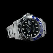 ROLEX GMT MASTER II BATMAN STEEL