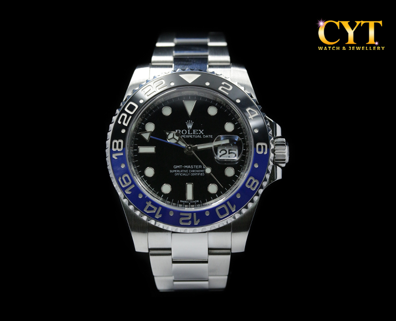 ROLEX GMT MASTER II BATMAN 116710BLNR - GMT MASTER II BATMAN