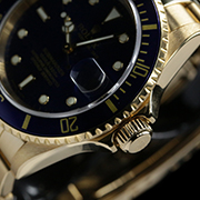 SUBMARINER DATE GOLD BLUE