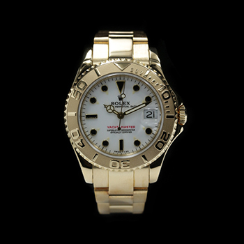 ROLEX YACHT-MASTER 35 68628 (SV) - YACHT-MASTER YELLOW GOLD