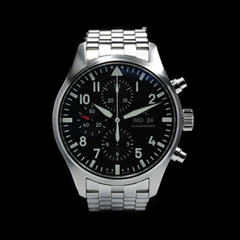 IWC PILOT'S WATCH CHRONOGRAPH IW377710 (SV) - PILOT'S WATCH CHRONOGRAPH STEEL