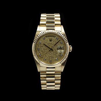 ROLEX DAY-DATE 36 18238G (SV) - R-R39