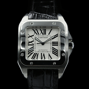 CARTIER SANTOS 100 XL 41MM 2656 - W-GW25