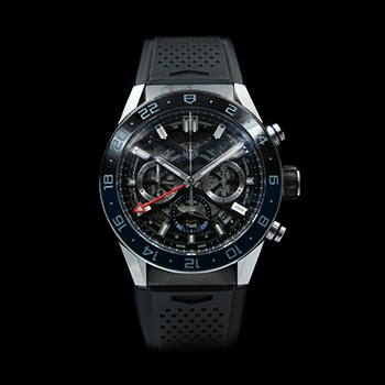 TAG HEUER CARRERA HEUER 02 GMT CBG2A1Z.FT6157 - W-GW39