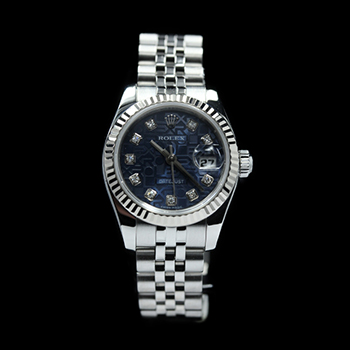ROLEX LADY DATEJUST 26 179174G - R-26