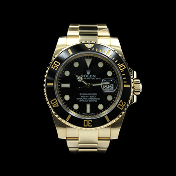 ROLEX SUBMARINER DATE BLACK 116618LN - R-R74