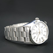 ROLEX OYSTER PERPETUAL DATE WHITE DIAL