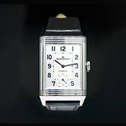 JAEGER LE COULTRE REVERSO DUOFACE HOME TIME 215.8.S9 - JAEGER LE COULTRE REVERSO DUOFACE HOME TIME